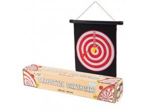 Magnetic dartboard (magnetické šipky)