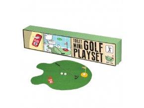 Mini toilet Golf playset (záchodový mini golf)