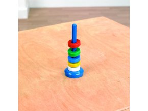Vznášející se kroužky v 5 barvách (Floating ring set)