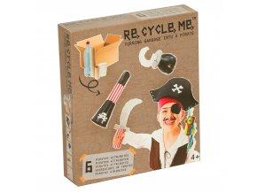 9755 set re cycle me piratsky kostym