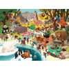 Puzzle Day at the ZOO (48 pc) / Puzzle - Den v ZOO (48 ks)
