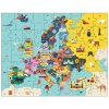 Geography Puzzle - Map of Europe (70 pcs)