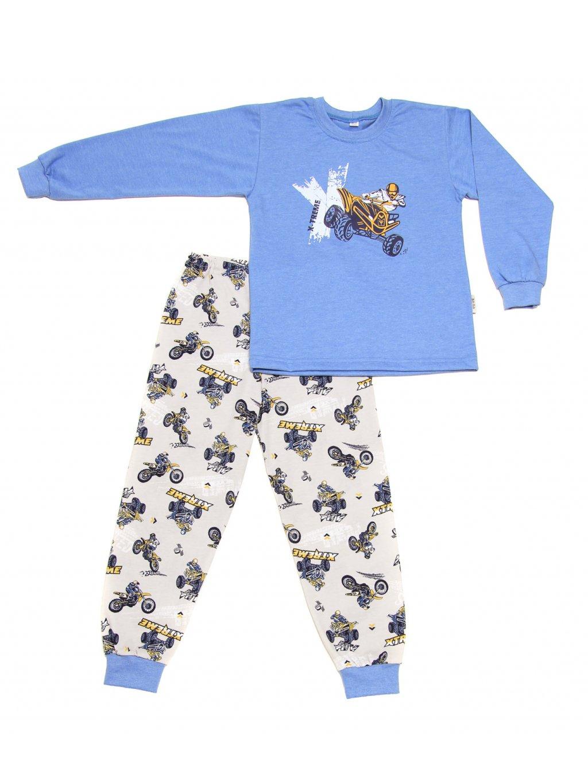 Dětské pyžamo ČTYŘKOLKA dlouhý rukáv