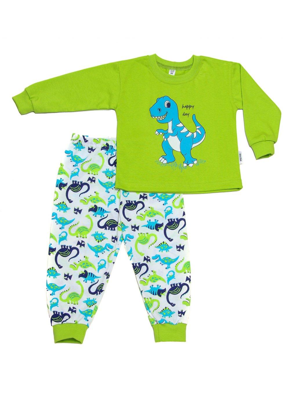 Dětské pyžamo DINOSAURUS dlouhý rukáv
