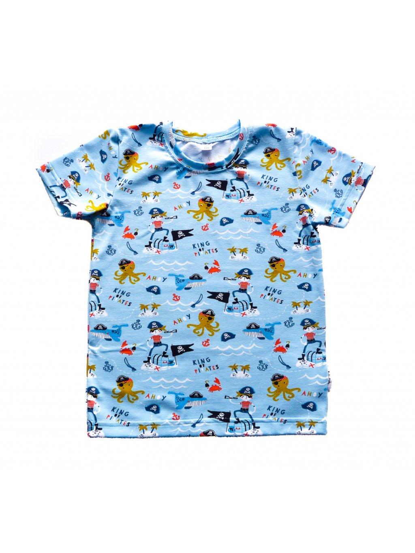 Dětské tričko PIRÁT krátký rukáv