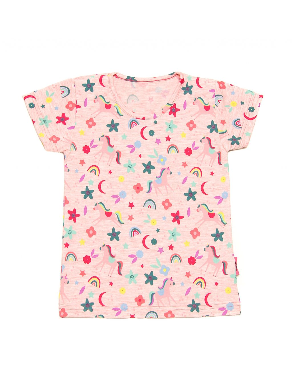 Dětské tričko JEDNOROŽEC NA LOUCE krátký rukáv
