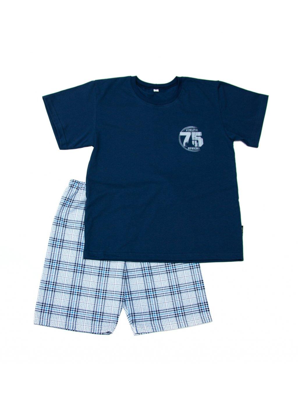 Chlapecké pyžamo NUMER 75 krátký rukáv