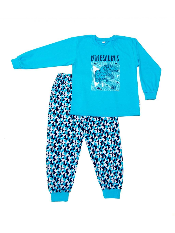 Dětské pyžamo DINOSAURUS T-REX dlouhý rukáv