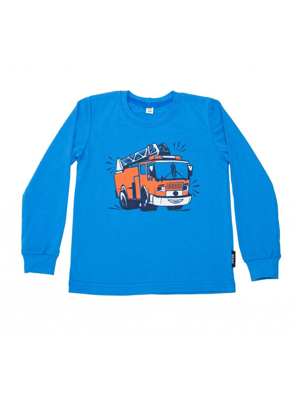 Dětské tričko HASIČSKÉ AUTO NEW dlouhý rukáv