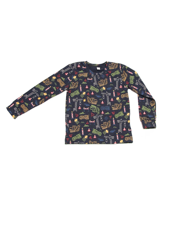 Dětské tričko STAVENIŠTĚ dlouhý rukáv