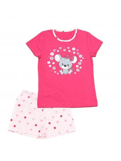 Dětské pyžamo MYŠKA krátký rukáv