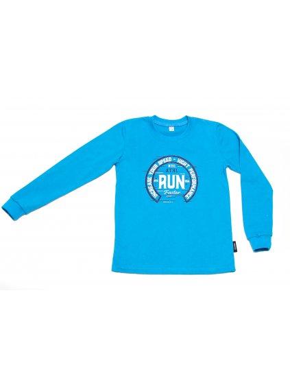 Chlapecké tričko RUN dlouhý rukáv