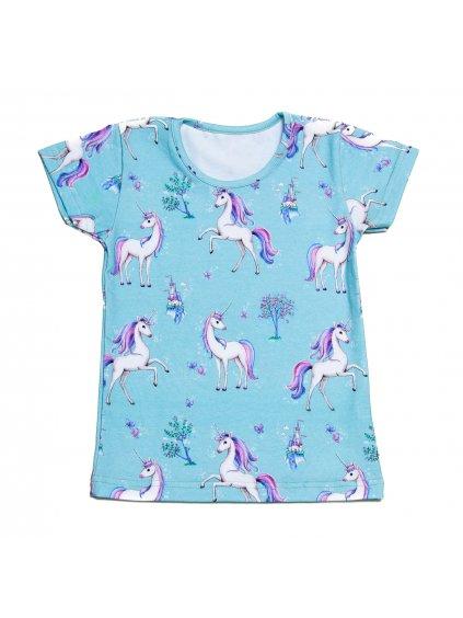 Dětské tričko JEDNOROŽEC krátký rukáv