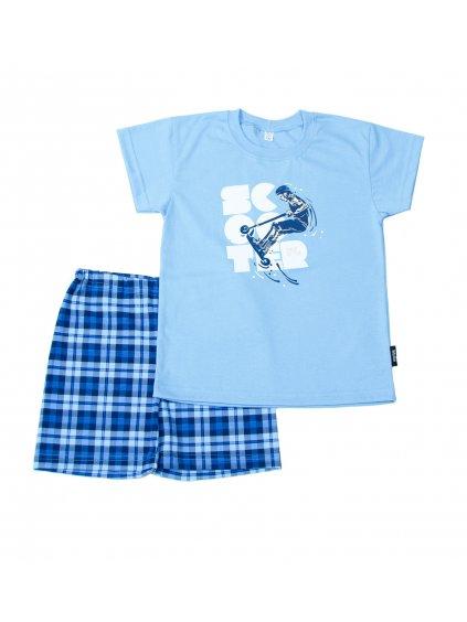 Chlapecké pyžamo SCOOTER krátký rukáv