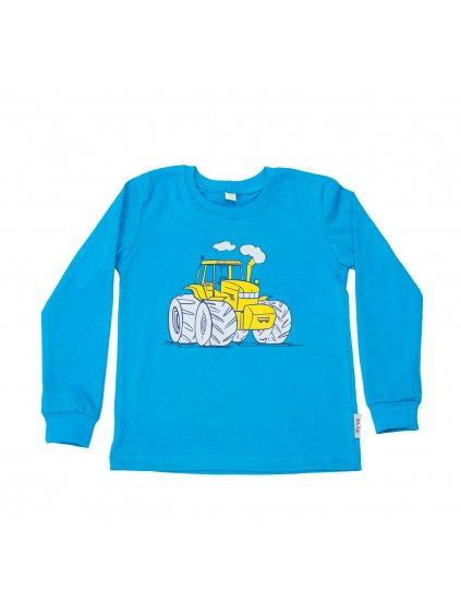 Dětské tričko TRAKTOR ZETOR dlouhý rukáv