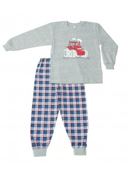 Dětské pyžamo TRAKTOR ZETOR dlouhý rukáv