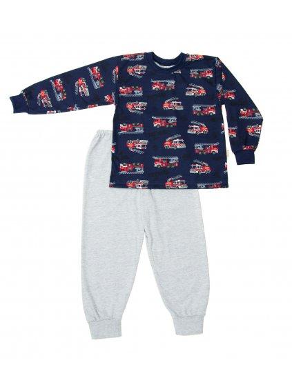 Dětské pyžamo HASIČI JEDOU dlouhý rukáv