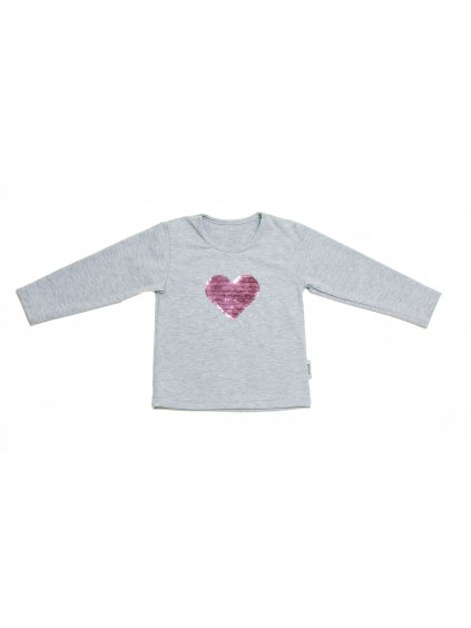 Dětské tričko SRDCE dlouhý rukáv