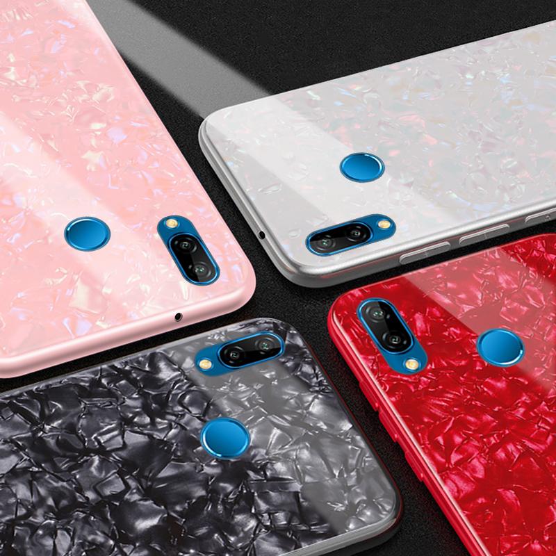 Huawei-P20-Lite-Phone-Case-Luxury-Glass-Conch-Pattern-Case-sfor-Funda-Huawei-P20-Pro-P20