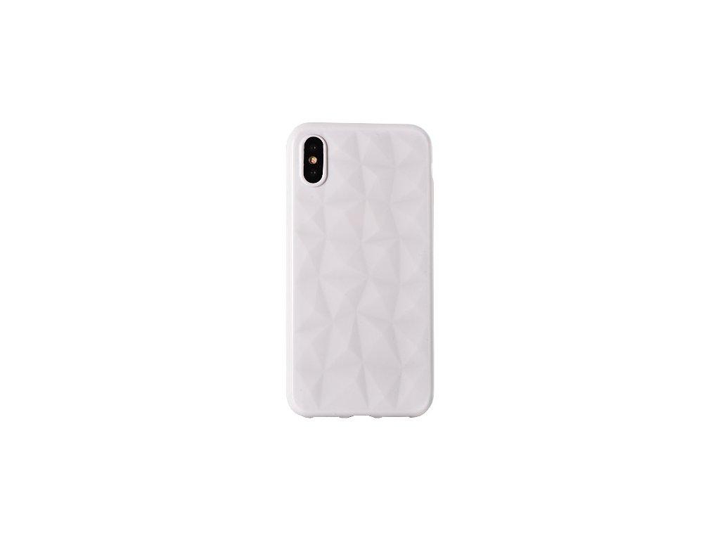 Silikonový diamantový kryt na iPhone XS   iPhone X - bílý - Bewear ... f3015d9946c