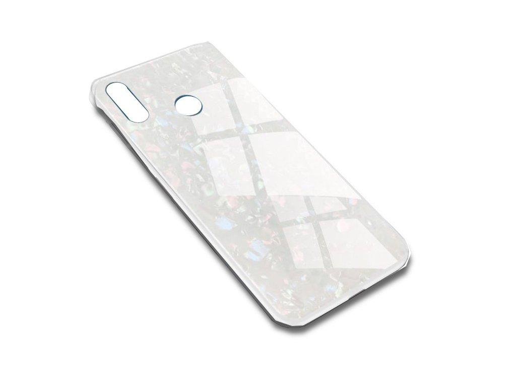 Skleněný luxusní Marble kryt na Xiaomi Note 5 - bílý - Bewear.cz  72e88458b6e