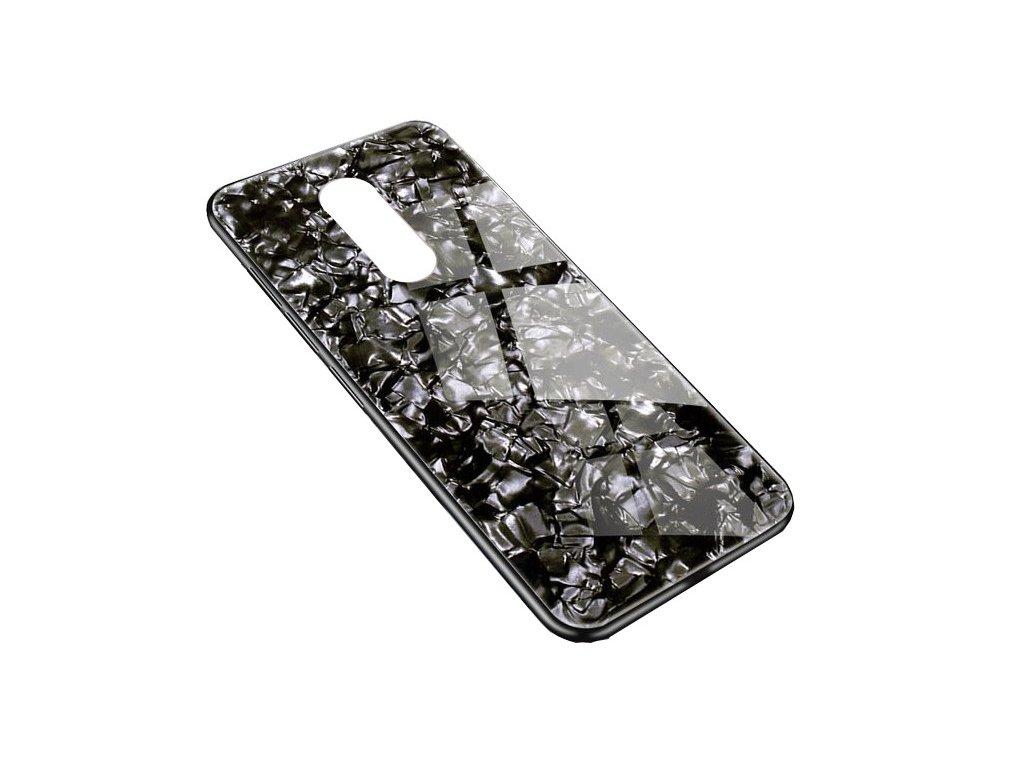 Skleněný luxusní Marble kryt na Xiaomi 5 Plus - černý - Bewear.cz  e0f1c111c4d