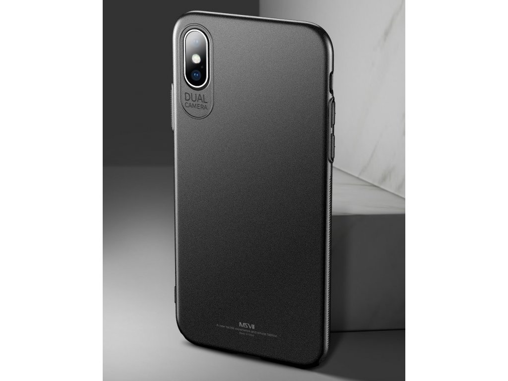 ... eng pl MSVII Simple Ultra Thin Cover PC Case for iPhone XS Max black  44986 6 ... 946b9651d9a