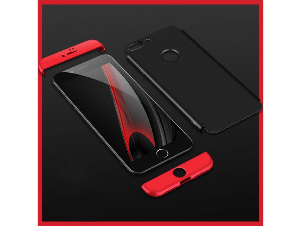 360 oboustranný kryt na iPhone 7 Plus   iPhone 8 Plus - červený ... 97586fe6515