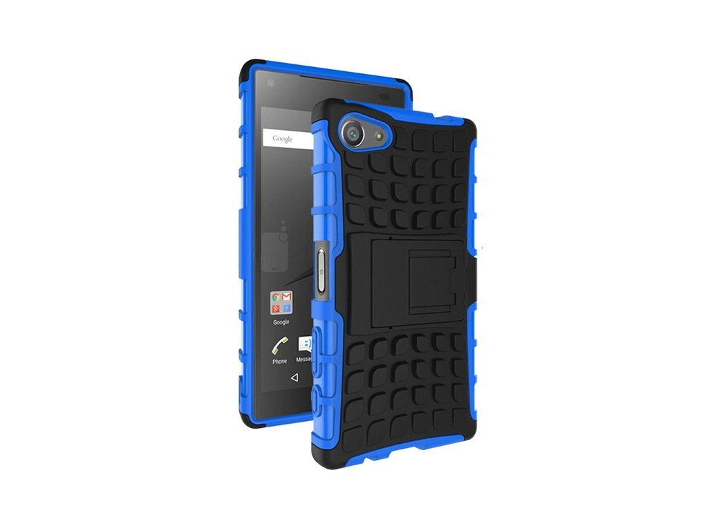 Outdoor odolný obal se stojánkem na Sony Xperia Z3 Compact - modrý ... 742ebc0e64f