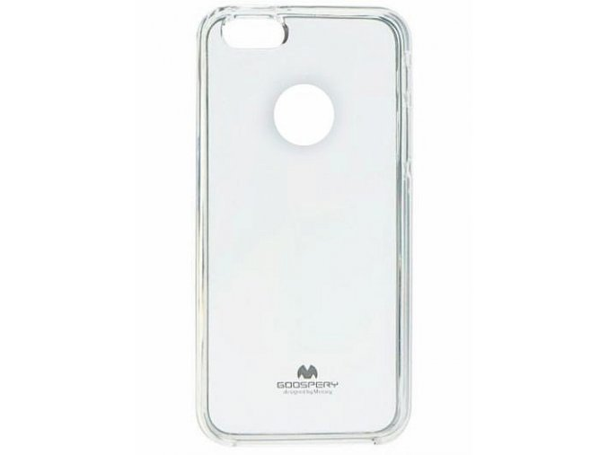 Perleťový gelový obal na Huawei P9 Lite Mini - transparentní