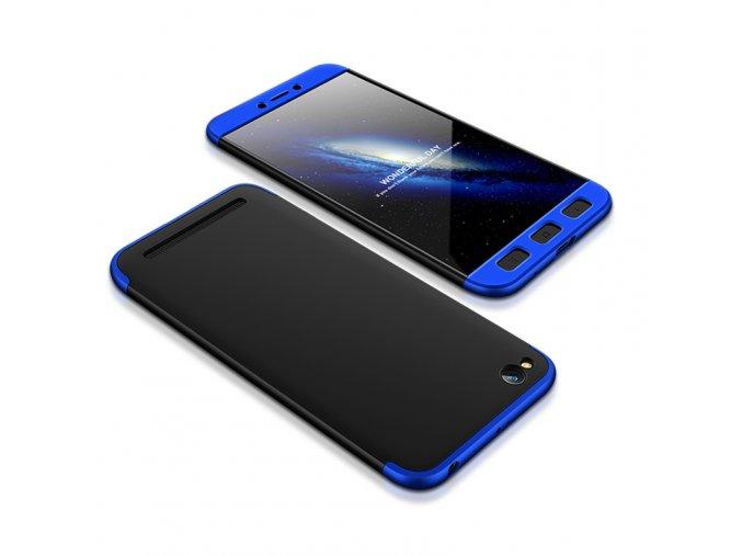 360 oboustranný kryt na Xiaomi Redmi 5A modročerný 1