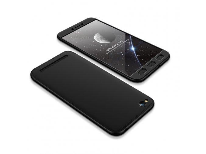 360 oboustranný kryt na Xiaomi Redmi 5A černý 1