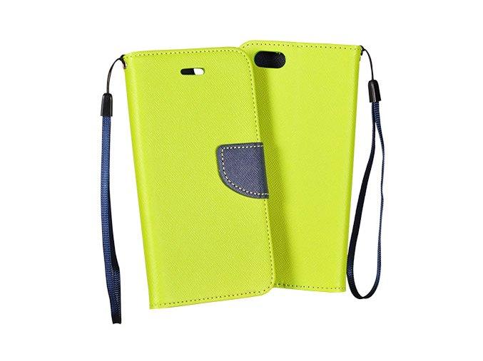 flipové poudro na Huawei Y7 zelené