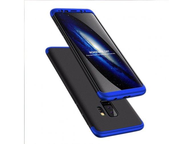 360 oboustranný kryt na Samsung Galaxy S9 Plus modročerný 1