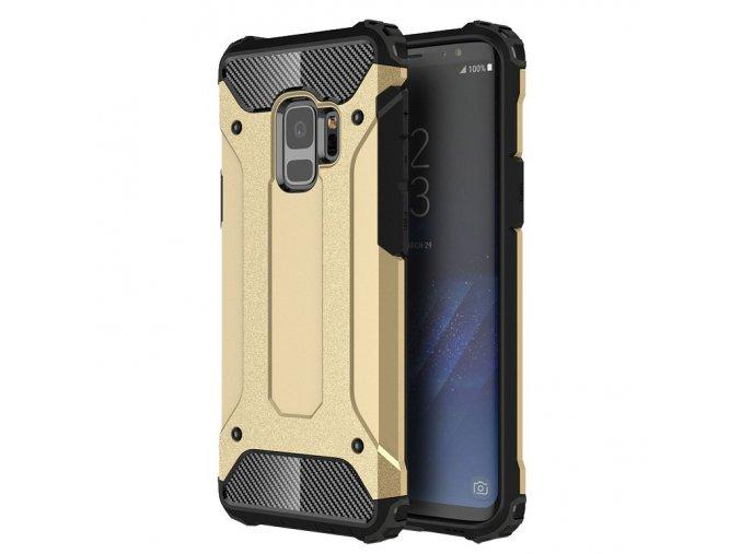 Armor kryt na Samsung Galaxy S9 zlatý 1