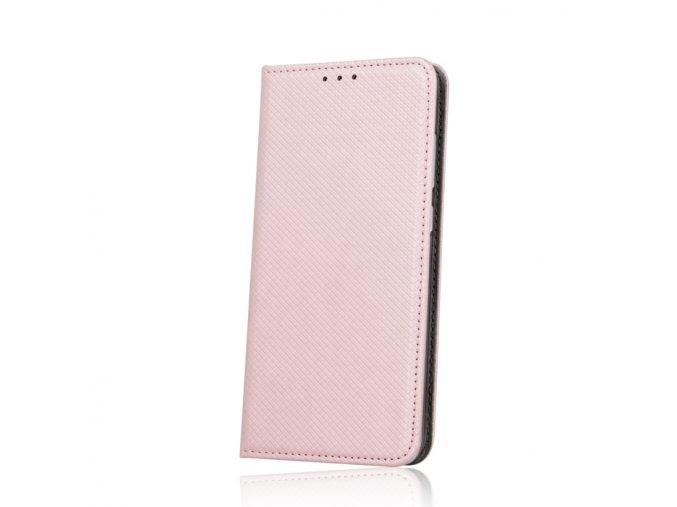 Flipové magnetické pouzdro na Huawei P9 Lite 2017 růžové