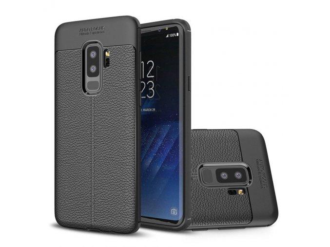 litchi kryt na SamsungS9 plus černý