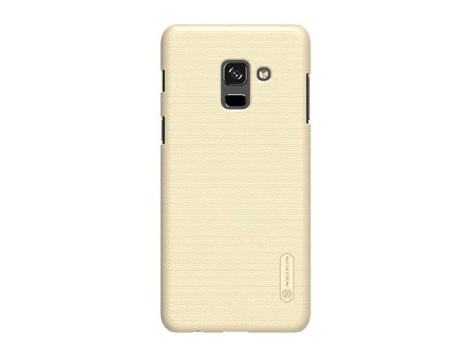 Nillkin Super frosted shield kryt na Samsung A8 2018 zlatý