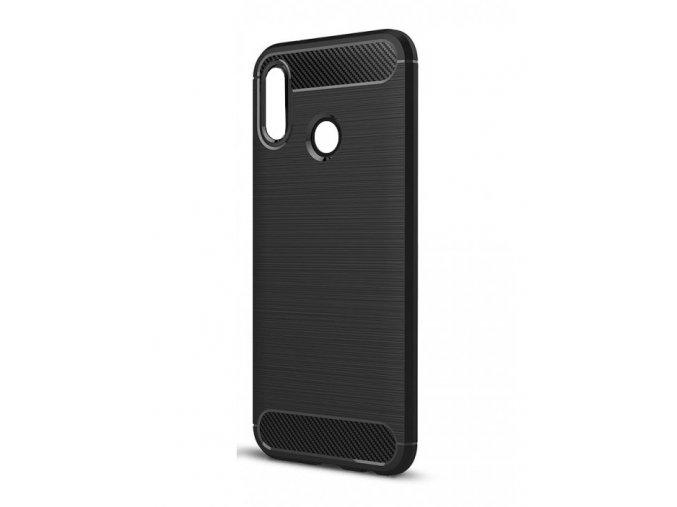 Ohebný carbon kryt na Huawei P20 Lite - černý