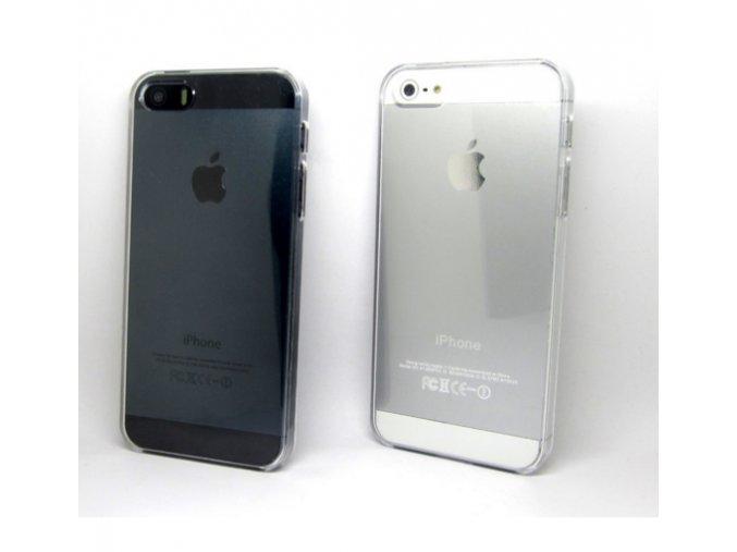 Silikonový transparentní kryt na iPhone 5, 5S, iPhone SE