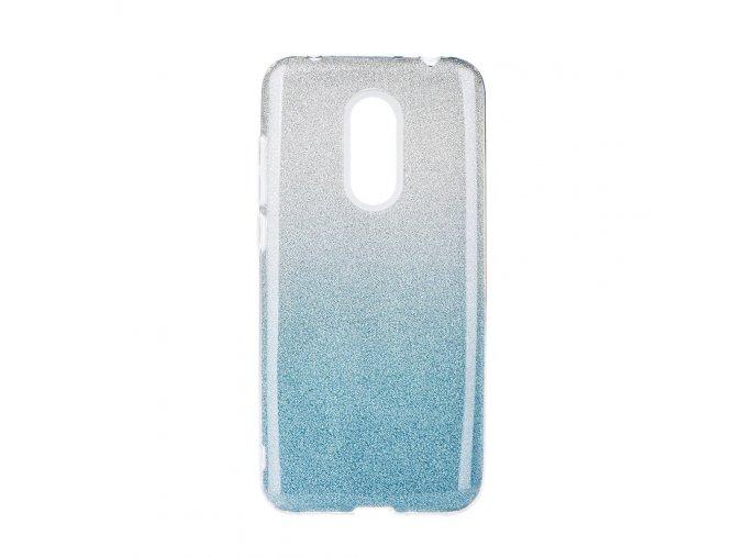 Třpytivý kryt na Xiaomi redmi 5 modrý