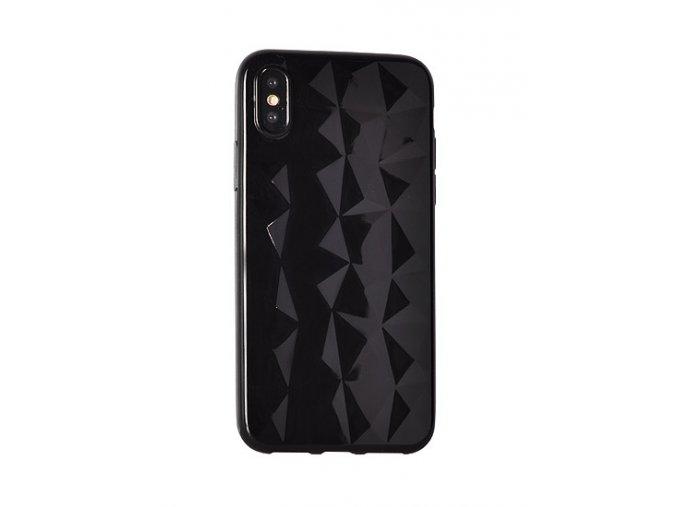 Silikonový diamantový kryt na Xiaomi Redmi 5 Plus - černý