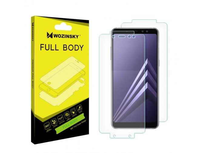 eng pl Wozinsky Full Body Self Repair 360 Full Coverage Screen Protector Film for Samsung Galaxy A8 2018 A530 39375 2