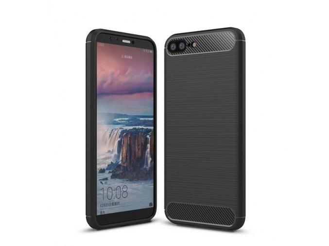 For Huawei Honor 10 Lite Slim Ultra Thin Carbon Fiber Case Flexible TPU Drawing Grip Protective.jpg 640x640