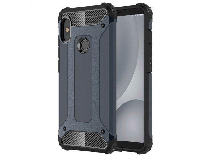 eng pl Hybrid Armor Case Tough Rugged Cover for Xiaomi Redmi Note 5 dual camera Redmi Note 5 Pro blue 41459 1