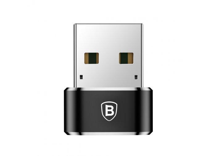 eng pl Baseus converter USB Type C to USB Adapter Connector black 26193 1