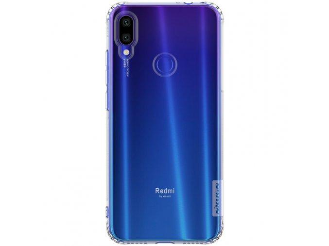 eng pl Nillkin Nature TPU Case Gel Ultra Slim Cover for Xiaomi Redmi Note 7 transparent 48582 1