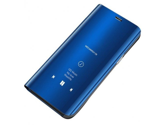 eng pl Clear View Case cover with Display for Xiaomi Redmi Note 5 dual camera Redmi Note 5 Pro blue 45979 1