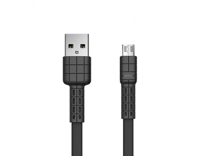 eng pl Remax Armor Series flat USB micro USB cable 5V 2 4A black RC 116m 49644 1