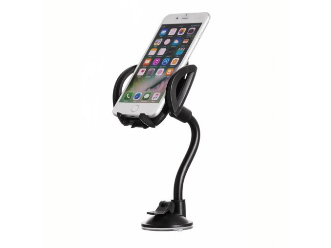 eng pl Universal Car Windshield Phone Mount Holder with Flexible Long Arm black 24310 2
